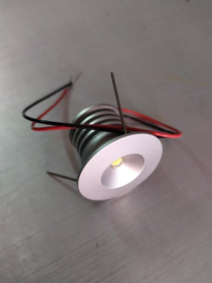 FOCO MINI LED 3W, DC 3 / 3,4V, 0,7A, DIAMETRO 30MM, H 24/23 MM, FC832 - Imagen 1